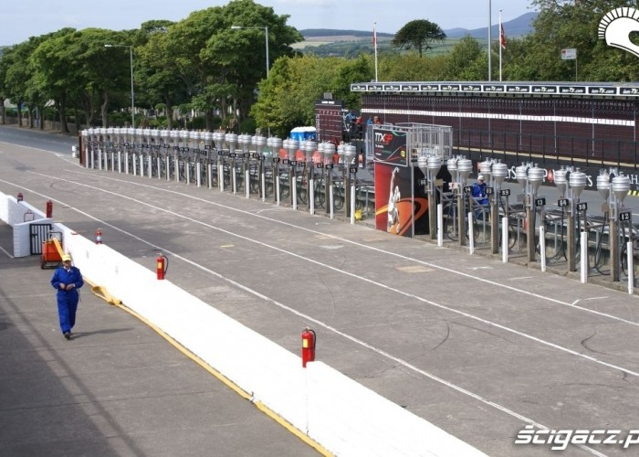 Isle of Man TT depo