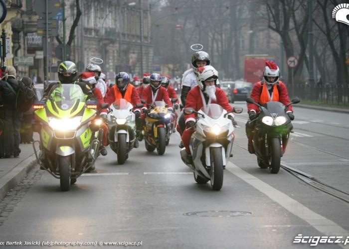 grupa porzadkowa mikolaje na moto