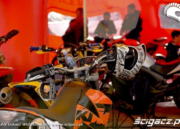 Bemowo Extreme moto 2009 namiotKTm