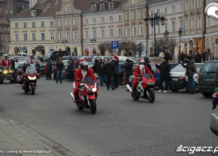 Mikolaje na motocyklach Lublin 2009 6 grudnia