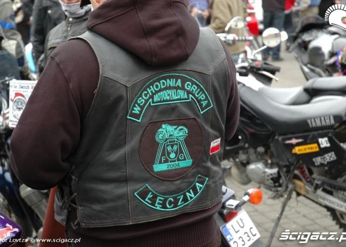 Mikolaje na motocyklach Lublin 2009 Leczna