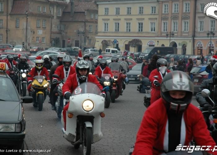 Mikolaje na motocyklach Lublin 2009 MZ