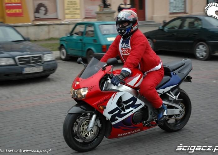 Mikolaje na motocyklach Lublin 2009 Mikolaj
