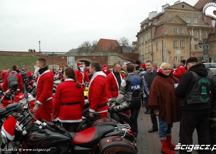Mikolaje na motocyklach Lublin 2009 stawrowka