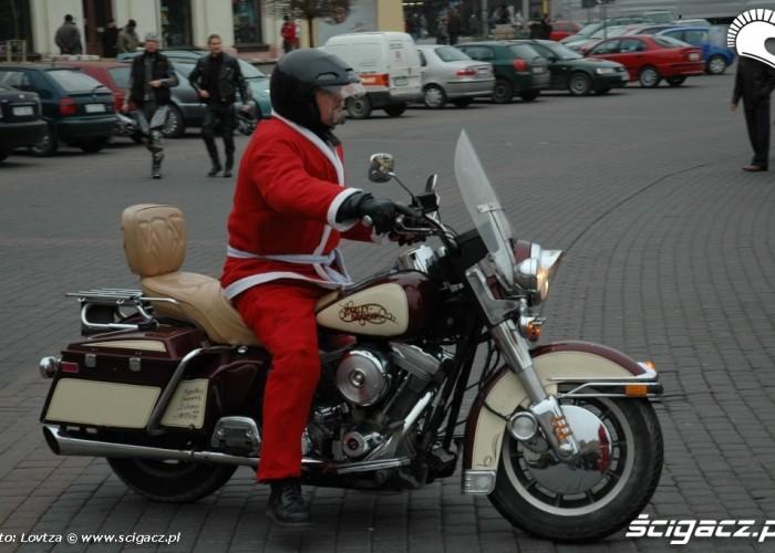 MotoMikolaje w Lublinie 2009 Harley Davidson