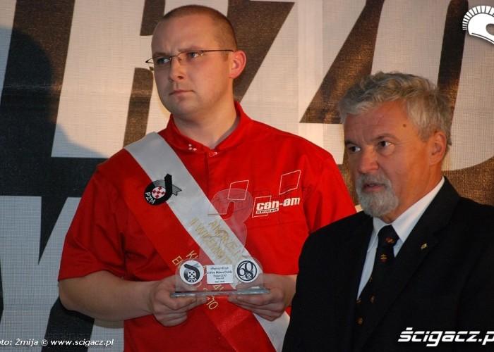 Andrzej Grzyb II Wicemistrz Polski Enduro klasa ATV4k