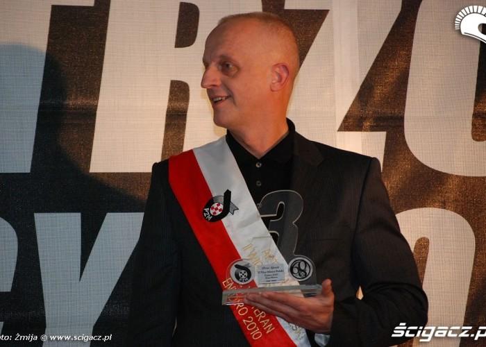 Artur Lukasik II Wicemistrz Polski Enduro klasa Weteran