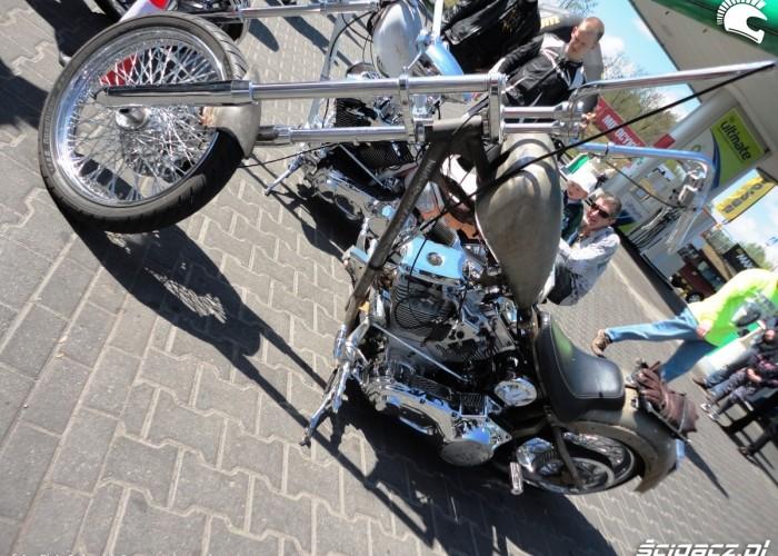hebeta motocykl Szczecin - Motocyklowa Niedziela na stacji BP 2011