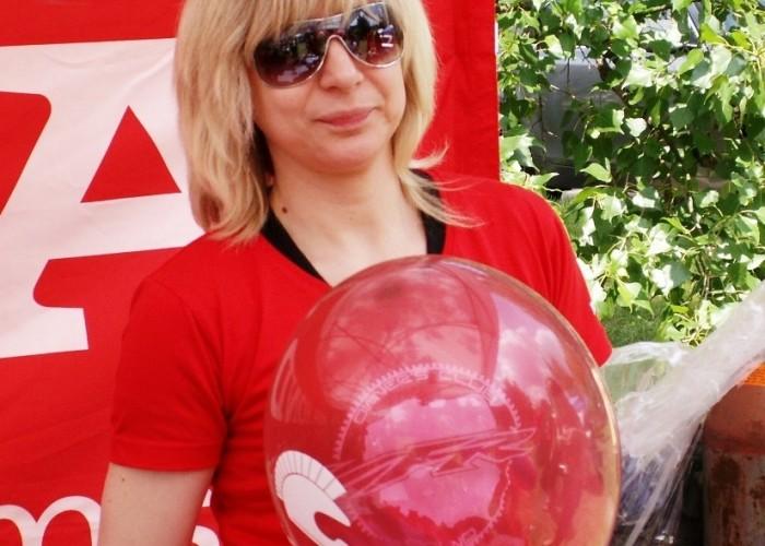 popmowanie balonow Dzien Dziecka w Centrum Zdrowia Dziecka
