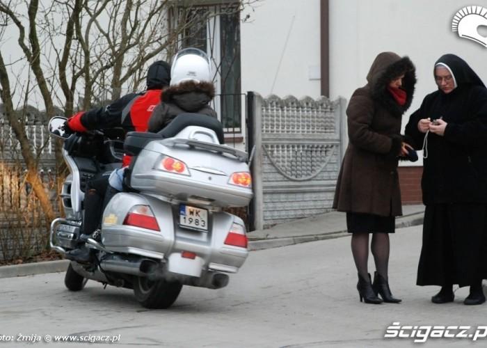 Dziawer Szymon jazda po winklu Honda Gloldwing