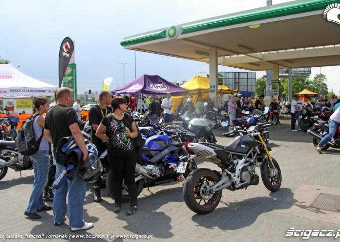Motocyklowa Niedziela na BP wroclaw burza wkrotce
