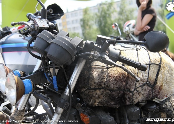 Motocyklowa Niedziela na BP wroclaw wlochaty szczur