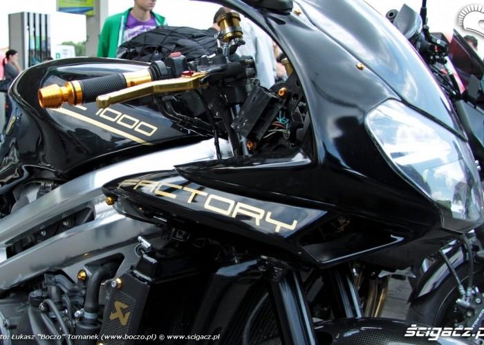 Motocyklowa Niedziela BP aprilia detale