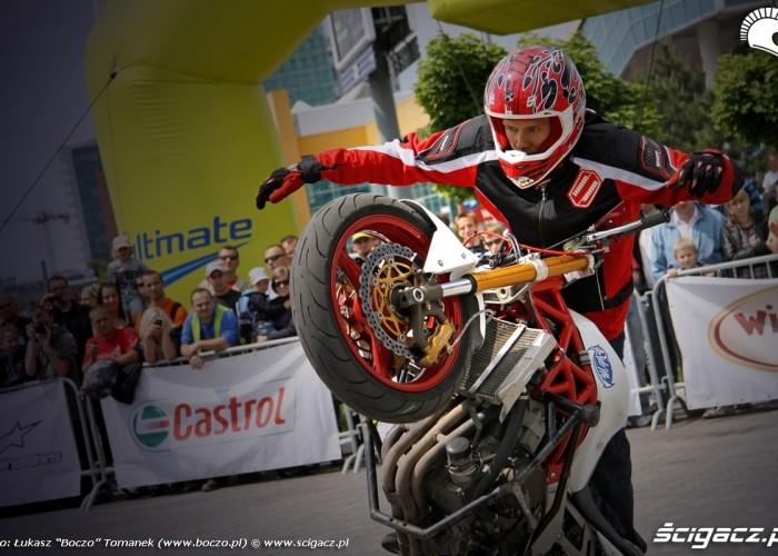 Motocyklowa Niedziela BP cyrkiel