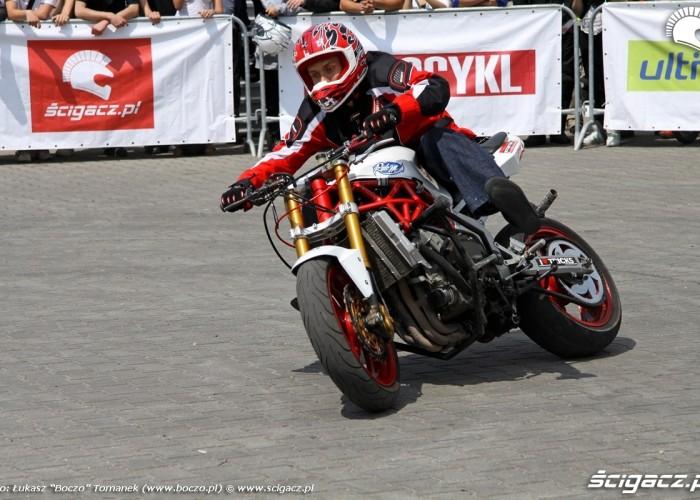 Motocyklowa Niedziela BP drift S13