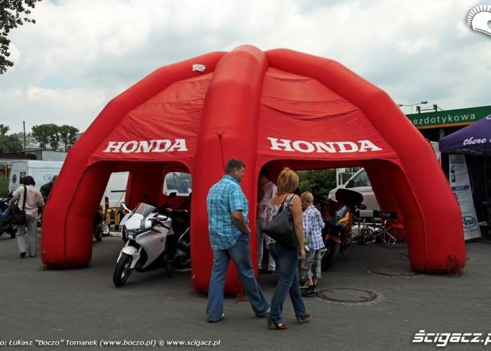 Motocyklowa Niedziela BP honda