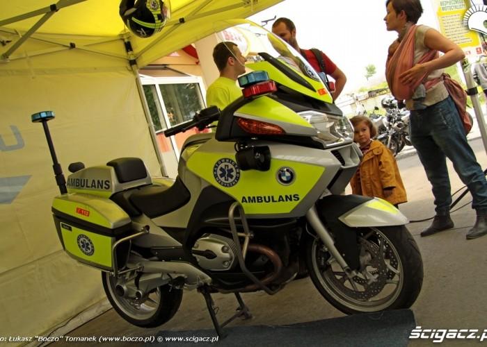 Motocyklowa Niedziela BP motoambulans