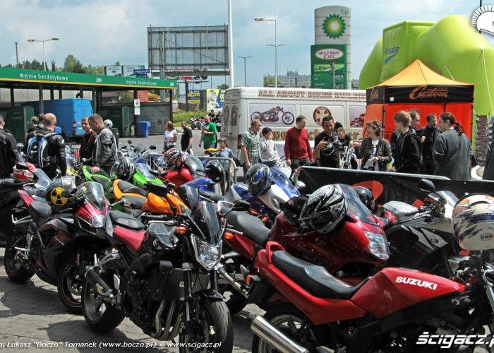 Motocyklowa Niedziela BP motocyklisci