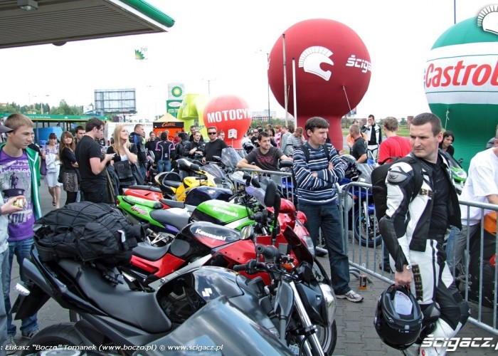Motocyklowa Niedziela BP tlum