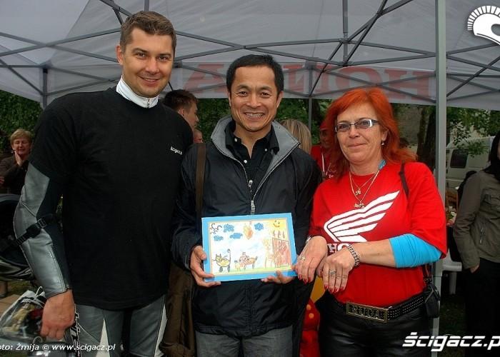Tomek Jaroslawski Ruda Prezes Toshiaki Konaka
