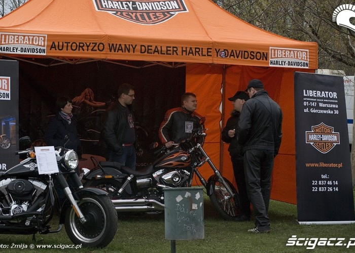 dealer Harleya motoserce 2010 warszawa