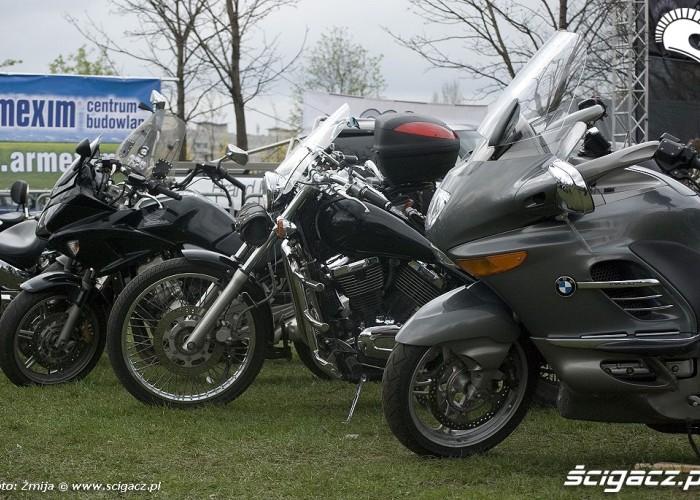 motocykle przy scenie motoserce 2010 warszawa