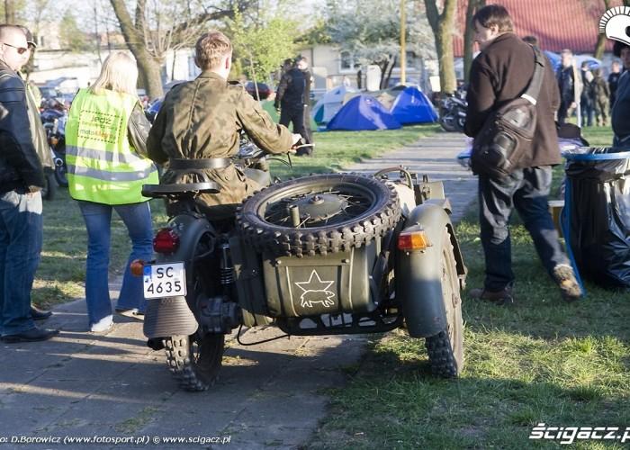 motocykl wojskowy rozpoczecie sezonu 2009 mlodzi mlodym czestochowa 2009 a mg 0233