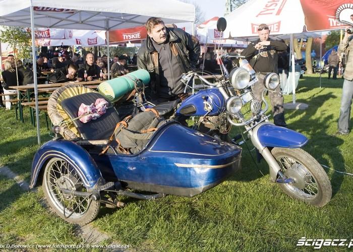 motocykl z koszem rozpoczecie sezonu 2009 mlodzi mlodym czestochowa 2009 a mg 0197