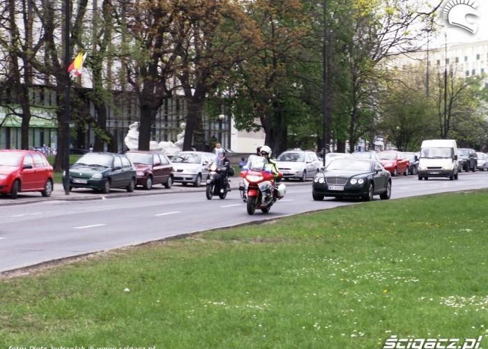 ambulans bentley Otwarcie sezonu motocyklowego Bemowo 2010
