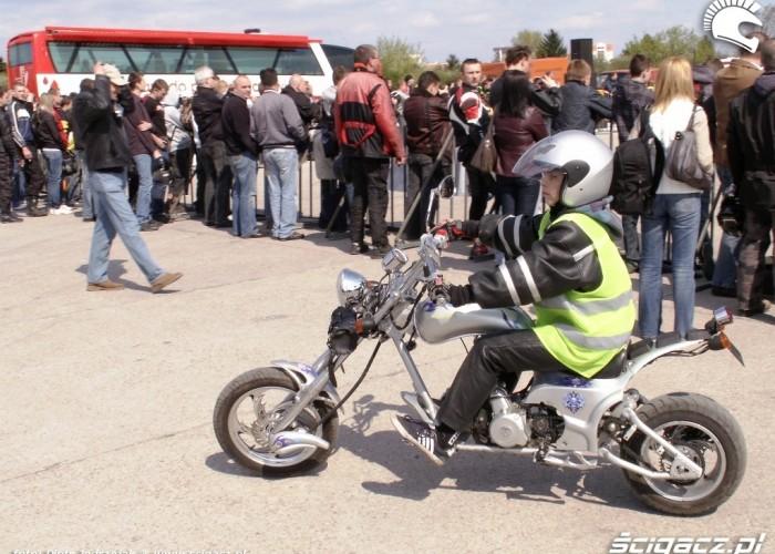 chopper dla mlodego Otwarcie sezonu motocyklowego Bemowo 2010