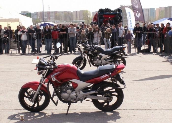 motocykle do slalomu Otwarcie sezonu motocyklowego Bemowo 2010