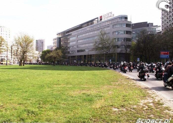 parada jedzie do centum Otwarcie sezonu motocyklowego Bemowo 2010