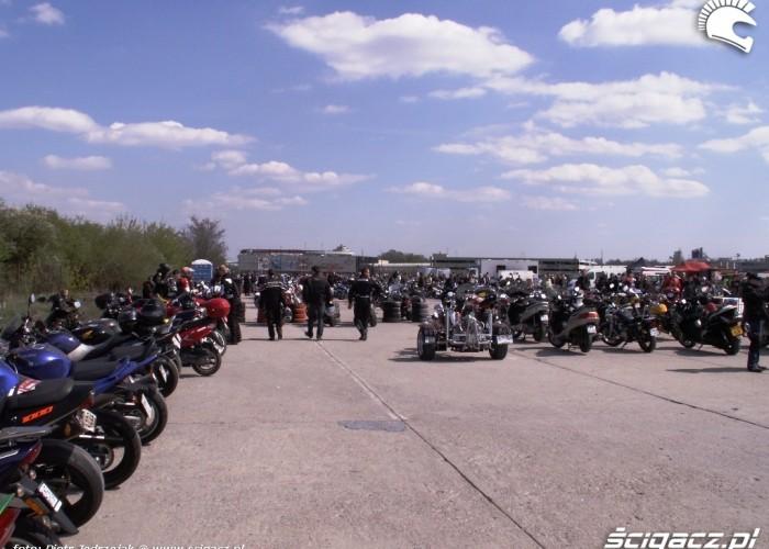 parking Otwarcie sezonu motocyklowego Bemowo 2010