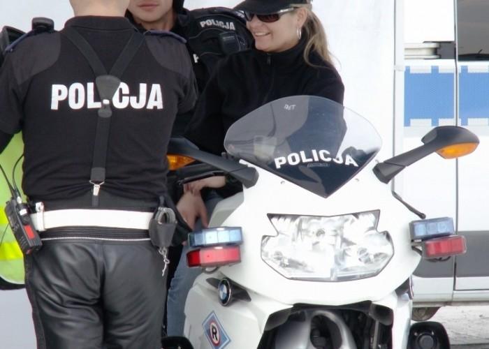 policja Otwarcie sezonu motocyklowego Bemowo 2010