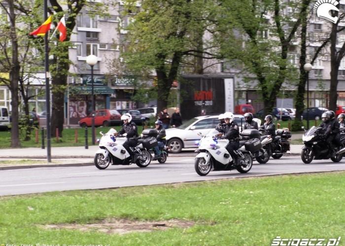 policja otwiera Otwarcie sezonu motocyklowego Bemowo 2010