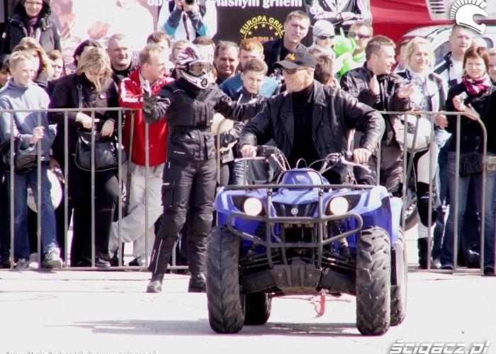 quad retbike sabro Otwarcie sezonu motocyklowego Bemowo 2010