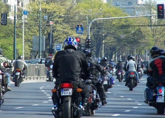 Parada Motocyklistow Warszawa 2009