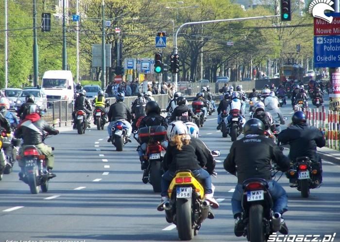 Parada Motocyklistow Warszawa 2009 2
