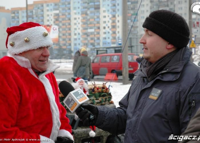Piotr Krachulec Polsat wywiad motomikolaje w gdyni spocie i gdansku 2010
