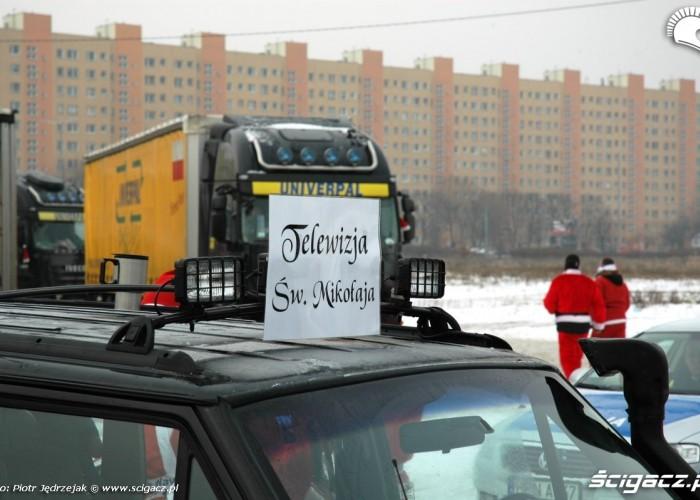 TV Sw Mikolaja motomikolaje w gdyni spocie i gdansku 2010