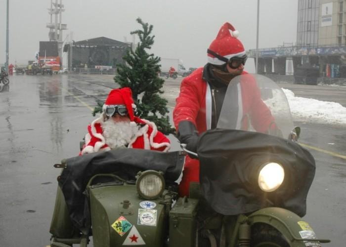 choinka parada motocyklistow - mikojakow trojmiasto 2010