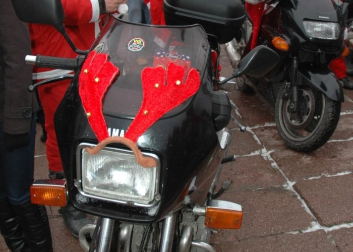 dekoracja motocykla parada motocyklistow - mikojakow trojmiasto 2010