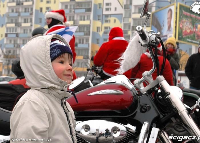 dziecko motocykl motomikolaje w gdyni spocie i gdansku 2010