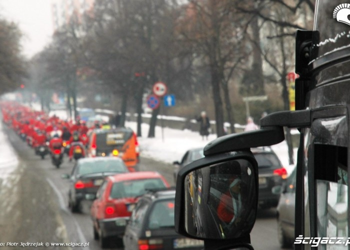 kierowca tira i parada motomikolaje w gdyni spocie i gdansku 2010
