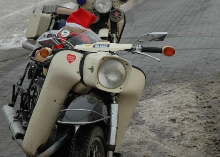 klasyki na paradzie mikolaje na motocyklach 2010
