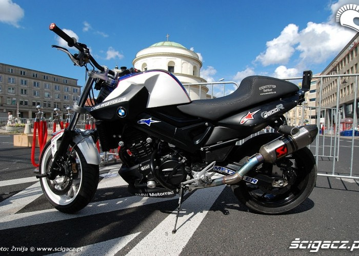 BMW F800R Chris Pfeiffer bike