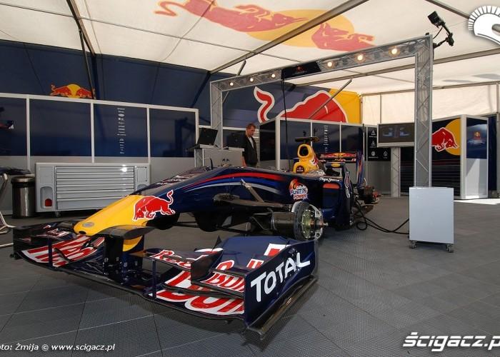 Formula 1 bolid Marka Webbera