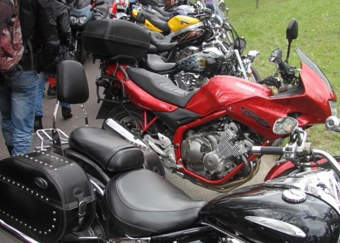 Jasna Gora motocykle w rzedzie
