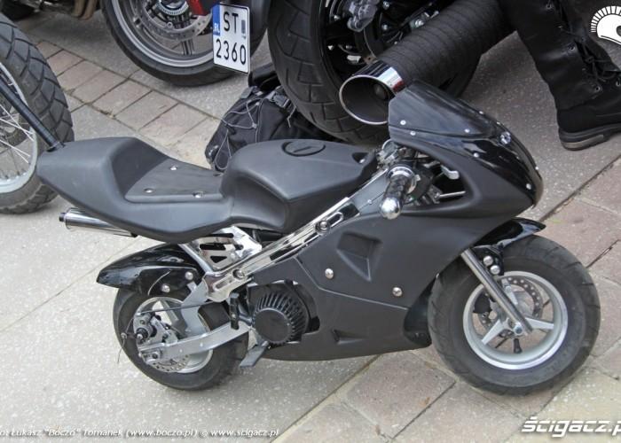 Jasna Gora pocket bike