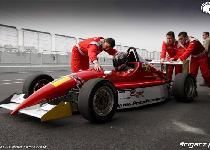 Race track slovakia ring Renault Formula